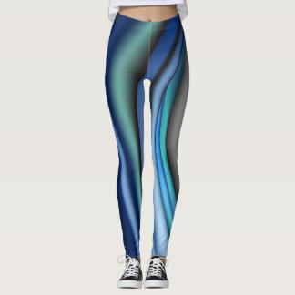 Blue Splash Leggins Leggings