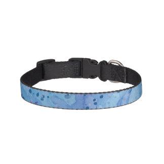 Blue Splat Collar