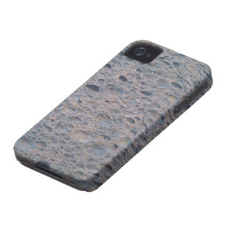 Blue sponge phone cover. iPhone 4 case