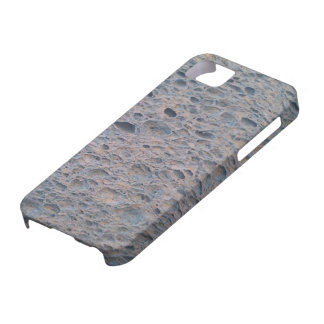 Blue sponge phone cover. iPhone 5 case