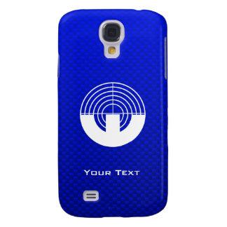 Blue Sport Shooting Samsung Galaxy S4 Cases