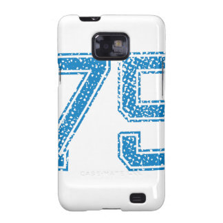 Blue Sports Jerzee Number 75 Galaxy SII Cover