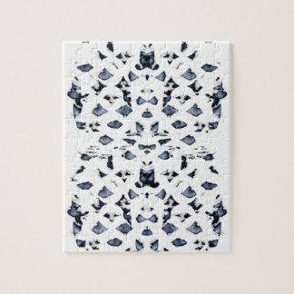 Blue Spots Puzzle