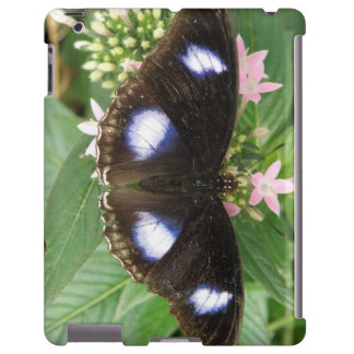 Blue Spotted Butterfly iPad Case
