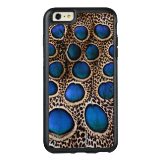 Blue spotted peacock pheasant OtterBox iPhone 6/6s plus case