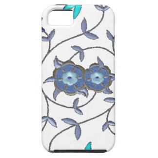 Blue Spring Flower Garden Case For The iPhone 5