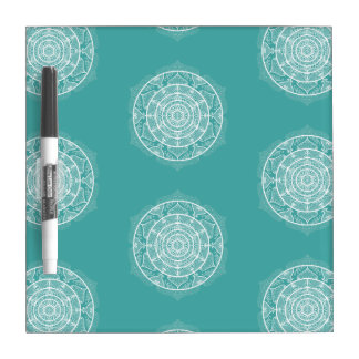 Blue Spruce Mandala Dry Erase Board