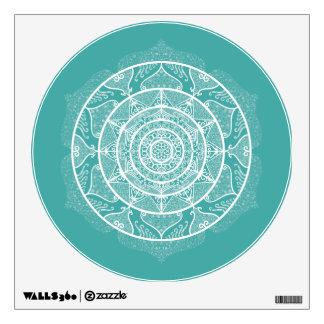 Blue Spruce Mandala Wall Sticker