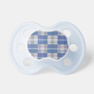 Blue Square Nerdy Pacifier