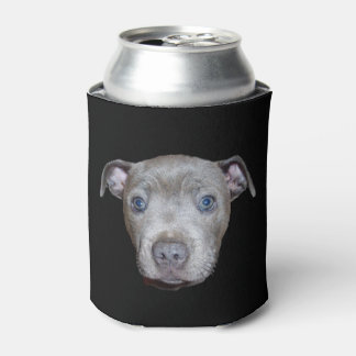 Blue Staffordshire Bull Terrier Face, Can Cooler