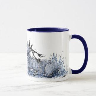 Blue Stag Mug