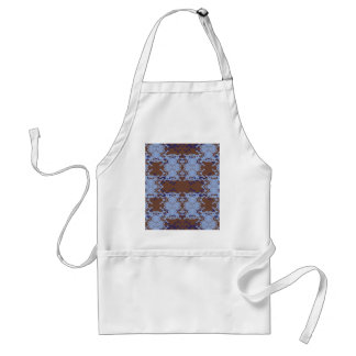 blue standard apron