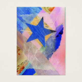 Blue Star ACEO artist trading card