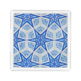 Blue Star Acrylic Tray