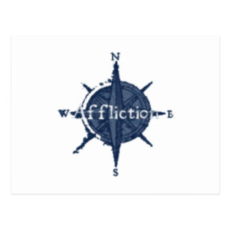 Blue Star Affliction Postcard