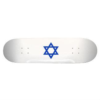 Blue Star of David Skate Boards