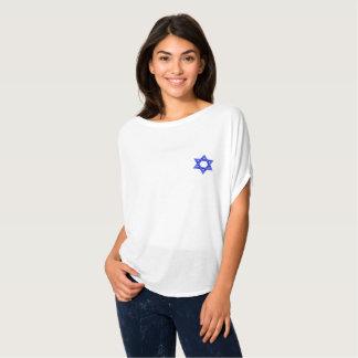 Blue Star Of David Women T-Shirt