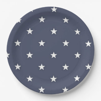 BLUE STAR Paper Plates BEALEADER 9 Inch Paper Plate