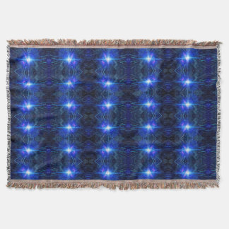 BLUE STAR throw