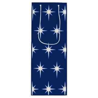 Blue Star Wine Gift Bag