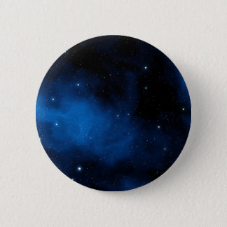 Blue Starry Sky 2 Inch Round Button