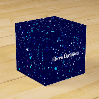 Blue Stars 2 Favor Box
