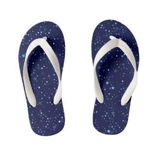 Blue Stars 2 - kids Kid's Flip Flops