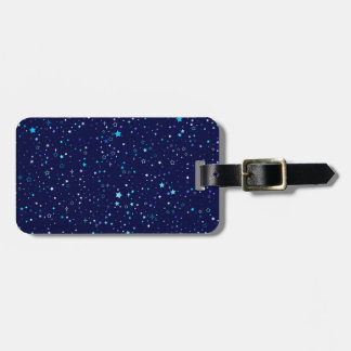 Blue Stars 2 Luggage Tag