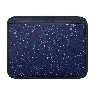 """Blue Stars 2 - Macbook Air 13"""" Horizontal MacBook Sleeves"""
