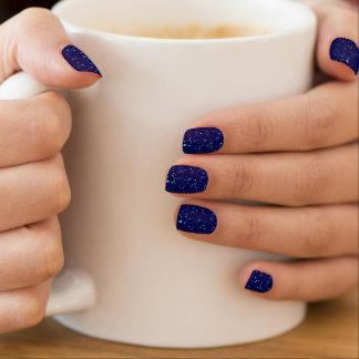 Blue Stars 2 Minx Nail Art