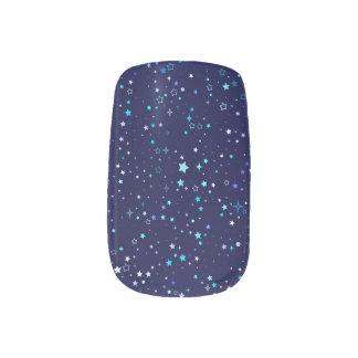 Blue Stars 2 - Nail art
