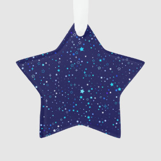Blue Stars 2 Ornament