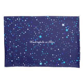 Blue Stars 2 Pillowcase