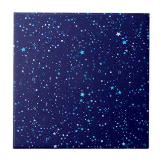 Blue Stars 2 Tile