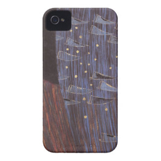Blue Stars Art Nouveau Case-Mate iPhone 4 Case