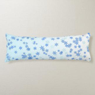 Blue Stars Body Pillow