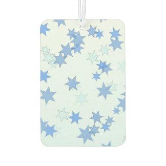 Blue Stars Design Car Air Freshener