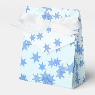 Blue Stars Design Favor Box