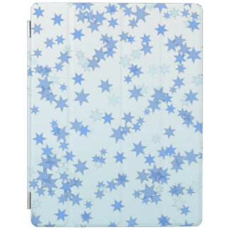 Blue Stars Design iPad Cover