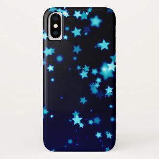 Blue Stars iPhone X Case