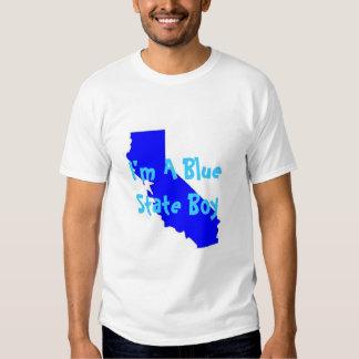 Blue State Boy T Shirts