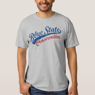 Blue State Conservative Tee Shirt
