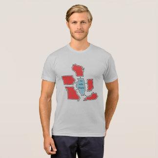 Blue State Illinois T-Shirt