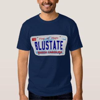 Blue State - NC Plate T-shirt