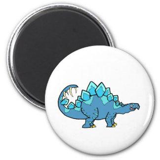 Blue Stegasaurus Magnet