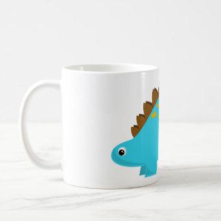Blue Stegosaurus Mug