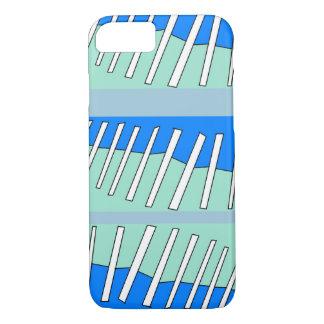 Blue stitch digital iPhone 7 case