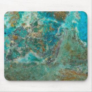 Blue Stone Image Mouse Pad
