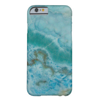 """Blue Stone Phone Case"" Barely There iPhone 6 Case"
