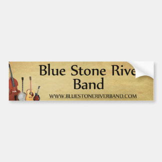 Blue Stone River Band Bumper Sticker